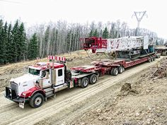 Northwell Oilfield Hauling Inc. Heavy Duty Trucks, Big Rig Trucks, Heavy Truck, Dump Trucks, New Trucks, Custom Trucks, Cool Trucks, Heavy Construction Equipment, Heavy Equipment