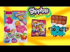 Shopkins Official MAGAZINE Season 2 Surprise Mystery Blind Bag Disney Frozen Fash'ems Toy Video - YouTube