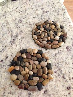Stone Mats I Used 3 Mats Bought At At Dollar General And