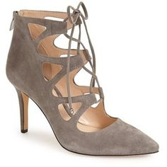 """Vince Camuto 'Bodell' Lace Up Pump, 3 1/2"""" heel"""