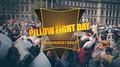 Pillow fight day Bucharest 2017