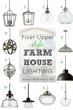 Do you love Fixer Upper? Check out our Fixer Upper style farmhouse lig. - Do you love Fixer Upper? Check out our Fixer Upper style farmhouse lighting picks to bring - Farmhouse Kitchen Lighting, Farmhouse Light Fixtures, Kitchen Fixtures, Modern Farmhouse Kitchens, Home Decor Kitchen, Farmhouse Sinks, Kitchen Modern, Kitchen Rustic, Modern Farmhouse Style