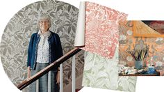 London's best-kept decorating secret is Marthe Armitage, the octogenarian wallpaper designer whose nature-inspired patterns are sought after by the English style cognoscenti.  All her commercial designs can be seen and ordered here  http://hamiltonweston.com/wallpapers/ranges/marthe-armitage-designs/