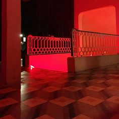 Red room #Madrid #LaLatina #SalaEquis #architecture #architexture #archidaily #building #abstract #minimal #archilovers #architectureporn #lines #perspective #geometry #architecturelovers #interior #decor #house #modern #europe #citylife #arquitectura #arquitetura #architect #architecturephotography