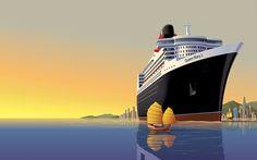 Queen Mary 2 (2004), Cunard Line, GB