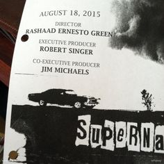 This year is flying by! Time to Tech Survey episode 5 of cw_spn with @rashaadernesto at the helm! #Supernatural