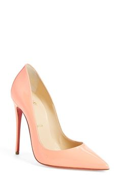 CHRISTIAN LOUBOUTIN So Kate Patent 120Mm Red Sole Pump, White ...