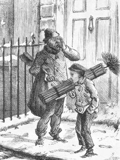 Climbing boys of the Victorian Era helped chimney sweeps. They lead a hard life and suffered from many maladies because of their jobs. Some also died from asphyxiation or from getting stuck in a chimney Victorian London, Victorian Era, Edwardian Era, Fine Art Prints, Framed Prints, Canvas Prints, Chimney Sweep, Photographic Prints, Ballerina