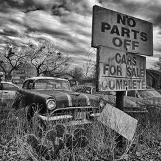 Salvage Yard by Blue Microbus, via Flickr