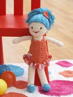 Lily Doll | Yarn | Free Knitting Patterns | Crochet Patterns | Yarnspirations