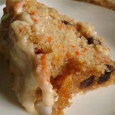 Carrot Cake III Allrecipes.com    http://allrecipes.com/recipe/carrot-cake-iii/