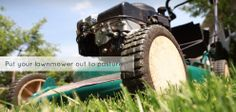 Nothing says summer like neighborhoods coming alive with the sounds of lawn mowers and the smell of fresh-cut grass. Lawn And Garden, Garden Tools, Riding Mower, Garden Maintenance, Outdoor Landscaping, Back Gardens, Landscape Lighting, Lawn Mower, Grass