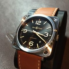 Baselworld 2015 : all Bell & Ross novelties in pictures Bell Ross, Watches, Leather, Accessories, Wristwatches, Clocks, Jewelry Accessories