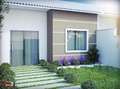 Maquete Eletronica - Bruno Santi 3D: Casas Geminadas