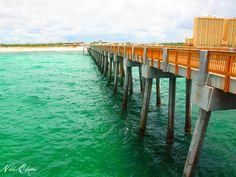 City Pier  Panama City, Florida Panama City Beach Attractions, Panama City Beach Florida, Panama City Panama, Florida Beaches, Sunshine State, Places To See, Lens, Vacation, Travel