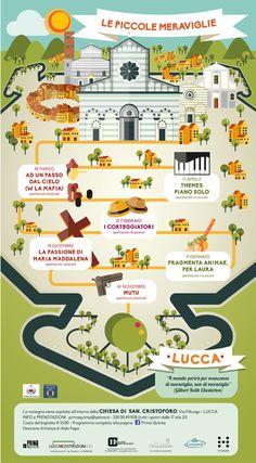 """Manifesto per la rassegna teatrale """"Le piccole meraviglie"""", Lucca 2014/15"""