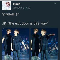 Omg jungkook looks like a little kid
