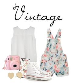 """""""VINTAGE!!!"""" by caro3302 ❤ liked on Polyvore featuring Converse, Kate Spade and vintage"""