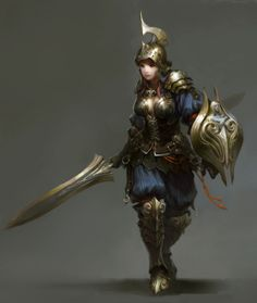 girl knight - Google Search