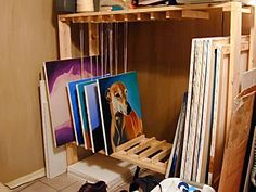 Build your own drying and storage rack - Page 2 - WetCanvas