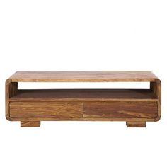 Porta-TV a 3 cassetti in massello di legno di sheesham Stockholm ...