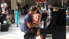 Nothing To See But This: Piano Improvisation At A Train Station In Paris