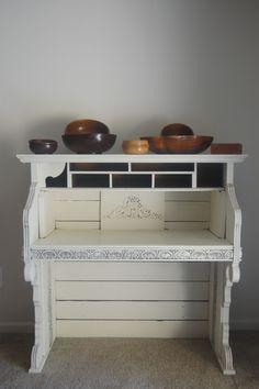 551 East Furniture Design: The Organ Desk Reveal