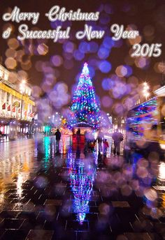 Happy Christmas And Successful New Year 2015 Photograph