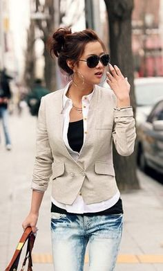 bought this blazer for spring/summer   ❤ it