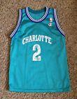 For Sale - CHARLOTTE HORNETS #2 L. JOHNSON NBA BASKETBALL JERSEY BY CHAMPION  YOUTH  MEDIUM - See More At http://sprtz.us/HornetsEBay