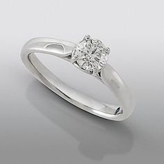 david tutera cttw round certified diamond solitaire ring white gold all david tutera wedding rings come with a small blue sapphire inside the band - David Tutera Wedding Rings
