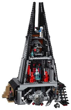 Visit Vader's Castle with a LEGO Set Revealed on The Star Wars Show - Dr Wong - Emporium of Tings. Lego Star Wars, Star Wars Kids, Star Wars Darth, Sith, Darth Vader Castle, Lego Mosaic, Star Wars Design, Star Wars Models, Pokemon