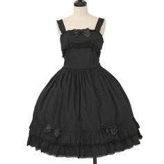 ♡ ALICE and the PIRATES ♡ Black jumper skirt http://www.wunderwelt.jp/products/detail11870.html ☆ ·.. · ° ☆ How to order ☆ ·.. · ° ☆ http://www.wunderwelt.jp/user_data/shoppingguide-eng ☆ ·.. · ☆ Japanese Vintage Lolita clothing shop Wunderwelt ☆ ·.. · ☆