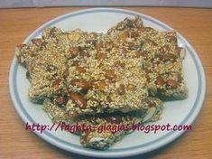 Τα φαγητά της γιαγιάς - Παστέλι με καβουρδισμένα αμύγδαλα και σουσάμι