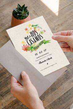 Para que todo se ponga en marcha, una de las primeras cosas que tienen que hacer es encontrar la invitación de casamiento perfecta. Les contamos cómo conseguir la mejor carta de presentación de su gran día.