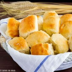 Amish Dinner Rolls - Gather for BreadFacebookInstagramPinterestTwitterFacebookInstagramPinterestTwitter