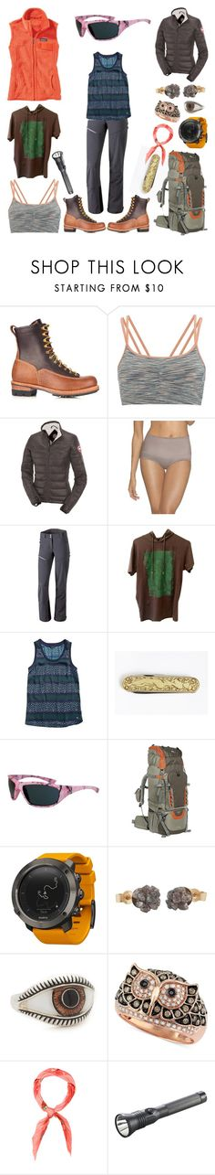 """Sanguankou, China"" by creation-gallery ❤ liked on Polyvore featuring Visvim, Sweaty Betty, Canada Goose, Hanes, Dynafit, Versace, Tommy Hilfiger, High Sierra, Suunto and Nora Kogan"