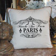 Flea market pillow