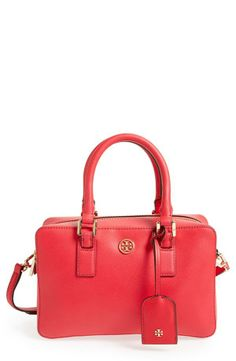 The everyday satchel by Tory Burch.