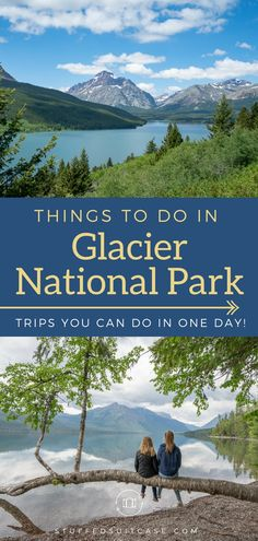 Best Things to Do in Glacier National Park from Lake McDonald to Many Glacier, these spots help you explore West Glacier and East Glacier even if you only have a day to visit. park Best Things to Do in Glacier National Park in One Day Trips Glacier National Park Montana, Glacier Park, West Glacier Montana, Waterton National Park, One Day Trip, Day Trips, State Parks, Nationalparks Usa, Many Glacier