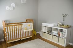 Love the Expedit as a change station...soooooooo doing this for her changing table....so much storage!!! LOVE IT