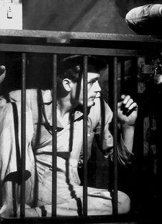 James Dean in See The Jaguar, 1952.