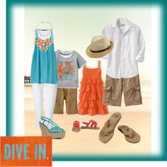 Image result for what to wear for family pictures on the beach