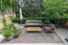50+ ideas for small garden design Small Garden Ideas Modern, Small Cottage Garden Ideas, Small City Garden, Small Garden Landscape, Small Courtyard Gardens, Courtyard Design, Small Backyard Gardens, Small Backyard Landscaping, Modern Backyard