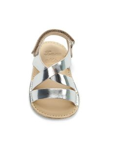 mini leather sandal by zara