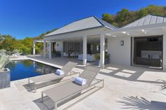 Ortelli Architetti Design a Contemporary Residence in the French West Indies