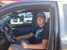 Michaels and his new Tacoma