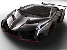 Lamborghini Veneno (2013) - 750 hp, 221 mph (355 km/h), 1 450 kg