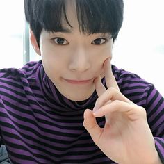 Doyoung in black and purple stripes is something I didn't know I needed until know Nct 127 Members, Nct Dream Members, Nct Yuta, Lucas Nct, K Pop, Kim Dong Young, Nct Doyoung, Fandoms, Entertainment