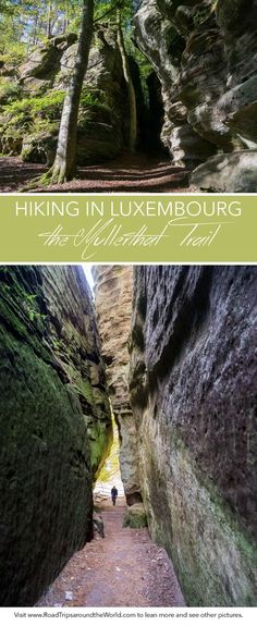 The Mullerthal region, in Luxembourg, is a hiking paradise. if you don& feel like hiking the trail but want to see the best parts, then read on. Places To Travel, Places To See, Travel Destinations, Luxembourg, Weekend Trips, Day Trips, Holland, Best Hikes, European Travel